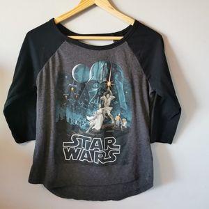 Star Wars 3/4 Sleeve Top